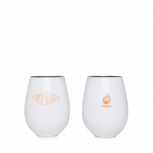 MIZU CAMP VIBES WINE CUP SET (2) GLOSSY WHTE